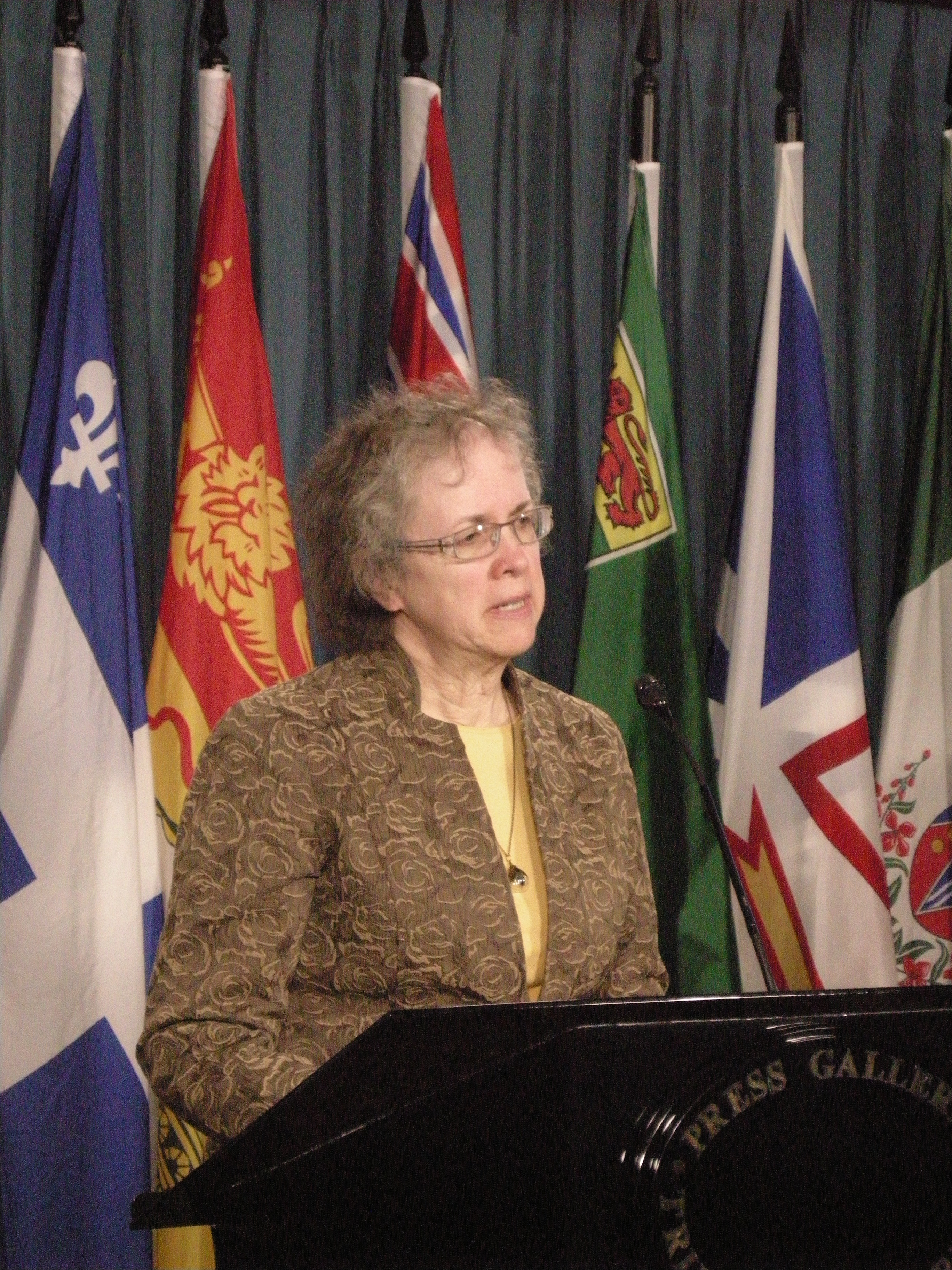 Peggy Walsh Craig of Nipissing-Tamiskaming is going to court over robocalls.