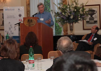 Richard Wilkinson speaking at The Pursuit of Happiness gathering in Rome to discuss the theories behind his book The Spirit Level, May 2010.