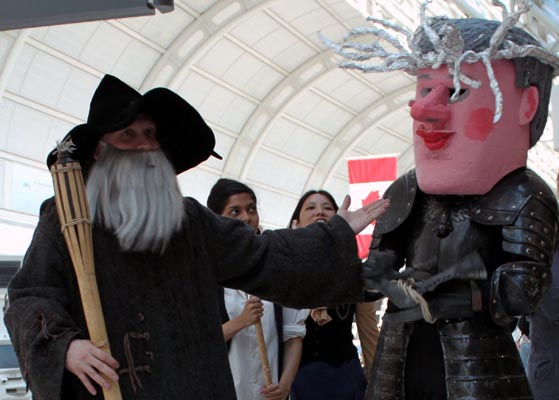 One hoax to rule them all: The Hobbit movie tar sands hoax revealed. Photo: Erin Byrnes