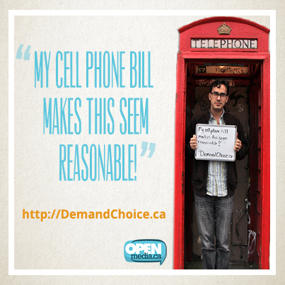 My cell phone bill makes this seem reasonable!