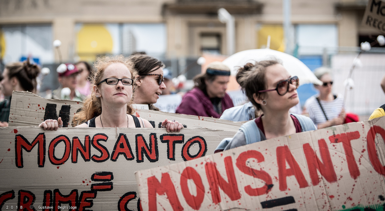 March against Monsanto. Photo: Gustave Deghilage/Flickr