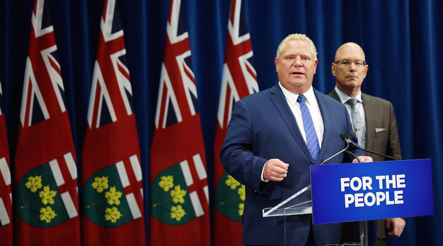 Ontario Premier Doug Ford announces action to uphold the Better Local Government Act. Photo: Premier of Ontario Photography/Flickr