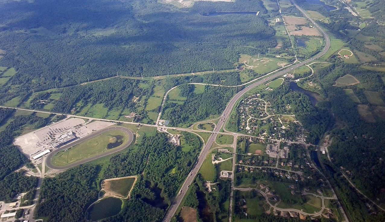 Aerial view of Campbellville. Photo: Haljackey/Wikimedia Commons