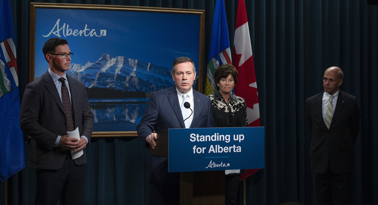 Alberta Premier Jason Kenney announces the launch of a public inquiry into foreign-funded anti-Alberta energy campaigns. Image: Government of Alberta/Flickr